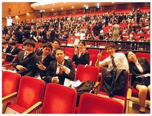 山形県内高等看護学生親睦会定例総会の画像
