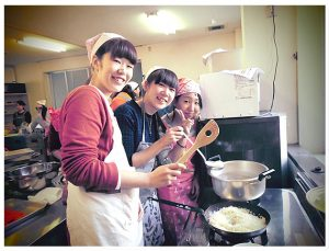 調理実習の画像